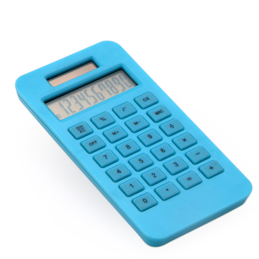 Eco Friendly Calculadora de bolso de potência dupla de 10 dígitos