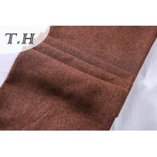 Tissu en lin uni brun fabriqué à Dama Tongxiang