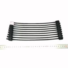 Road usePlastic uniaxial geogrid TGDG65 HDPE material