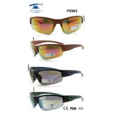 Colourful Fashion Plastic Sport Sunglasses (PS962)
