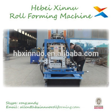 Aluminum CZ Purlin Profile Metal Sheet Roll Forming Machine For Sale