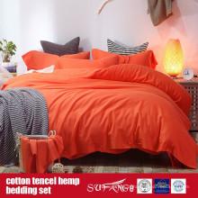 Coton Lyocell chanvre ensemble de lin mélangé vente directe d'usine