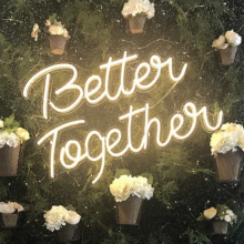 WEDDING LIGHTED NEON SIGN