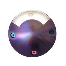 Встраиваемый напольный светильник под землей