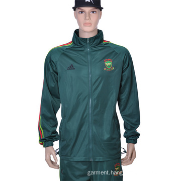 Customized Embroidery Students′ Polyester Zipper up Jacket and Pant