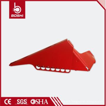 Verrouillage de sécurité de la vanne à bille, verrouillage de la vanne de la grande vanne, BD-F04, adapté aux tuyaux de 38,1 mm à 76,2 mm