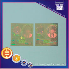 Label Keamanan Hologram PET Anti-palsu