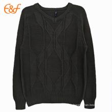 Top 10 des hommes pull noir motif de tricot gratuit