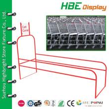Металлическая тележка для заправки для супермаркетов