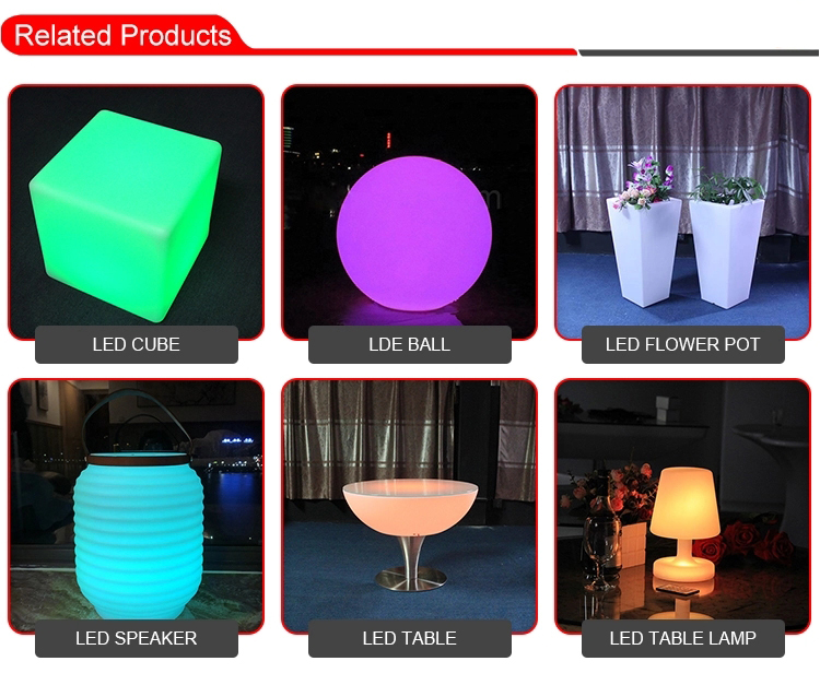Home Mobile Lighting LED Sofa