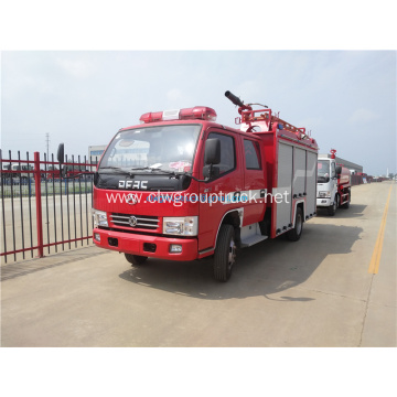 fire fighting truck with Water and Foam Tank