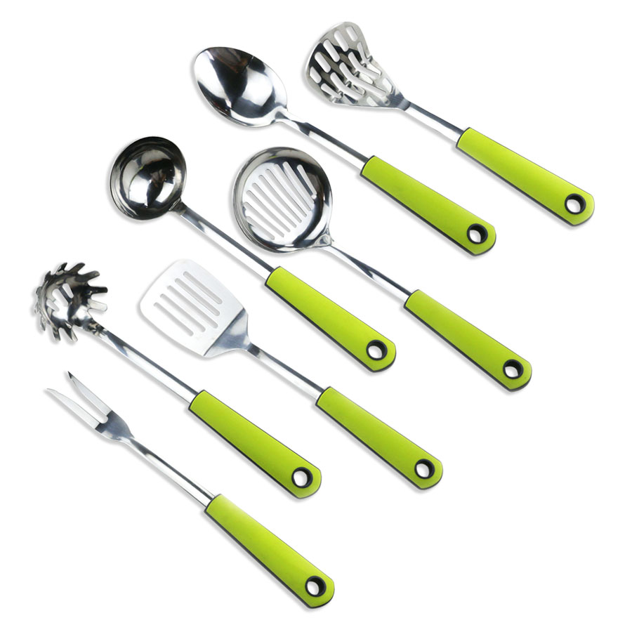 6PCS Stainless Steel Utensil Set