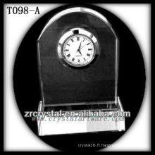 Magnifique horloge en cristal K9 T098-A