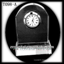Wonderful K9 Crystal Clock T098-A
