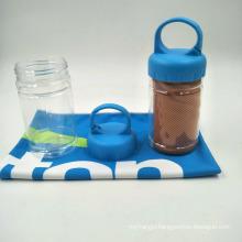 wholesale quick dry custom logo design ice cooling microfiber towel