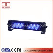 Traço de emergência 12V LED Strobe azul Led acende (SL761)
