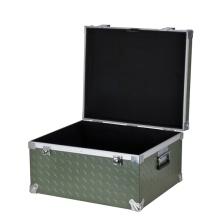 Neues Produkt Wasserdichtes Aluminium Kosmetik Briefkasten Flight Case