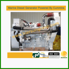 Powered by Cummins 40kw/50kva marine diesel generator