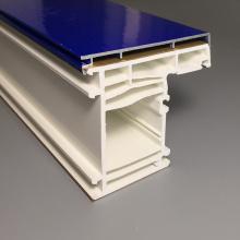 Golden Oak Foil Laminated PVC Profile uPVC Windows