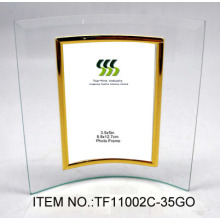 Solid Curved Glass Photo Frame