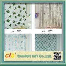 Impreso del vinilo del PVC cortina de ducha