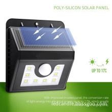 8LED Solar Power Lights 3Mode Outdoor solar home light for Path Garden Lighting-4Pack