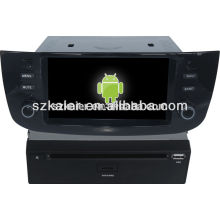 "car multimedia system 6""car dvd player,factory directly !Quad core,GPS,radio,bluetooth for fiat linea/punto"