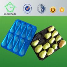 Frost-Oberflächen-feuchtigkeitsgeschützte Blasen-Prozess-Art frische Birnen-Gebrauchs-pp. Behälter-Blisterpackung für Frucht mit exportierendem Standard