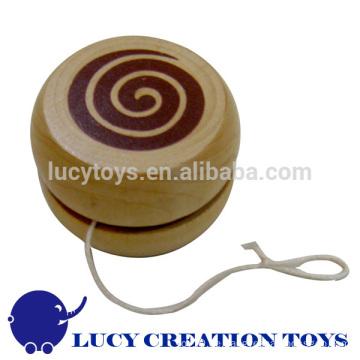 Preiswertes klassisches Spielzeug hölzernes Yoyo