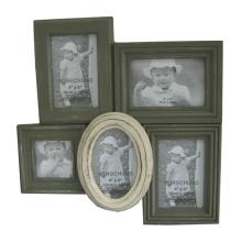 Wooden Multiple Photo Frame for Home Decor