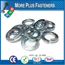 Made in Taiwan DIN 127 Helical Spring Lock Washer