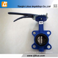 Flange or Wafer Type Hand Lever Butterfly Valve