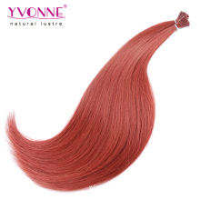 Pre Bonded 100% cabelo humano eu ponta extensão do cabelo