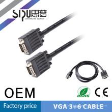 SIPU melhor qualidade longa 10 metros cabo VGA 3 + 4