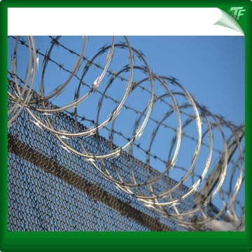 Water proof protective razor wire mesh