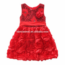 Enfants broderie genou longueur tulle 3 ans fille robe fille fantaisie robes