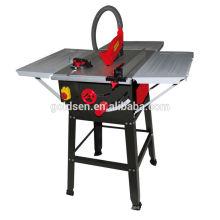Machine de scie à ongles composée à coupe en aluminium 250 mm 1500w Scie à table coulissante électrique à coupe en bois