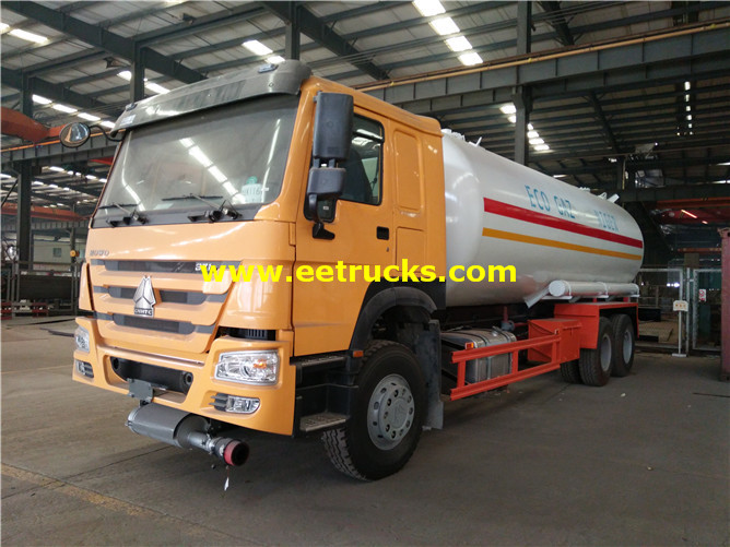 LPG Road Tank Vehicle