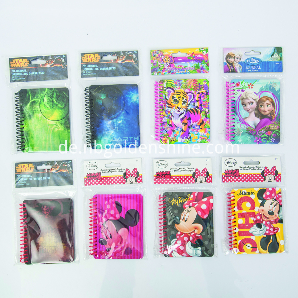 All Kids Lovely Mini Notepad