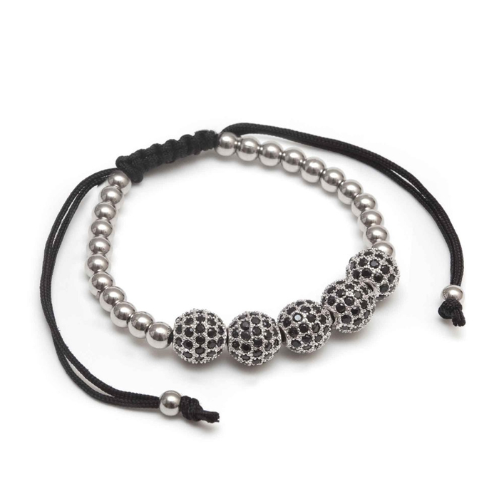 CZ Beads Bracelets