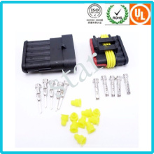 Automobile 5 Pin Way Wire Harness Connector Tyco AMP Waterproof Male Female Car Connector