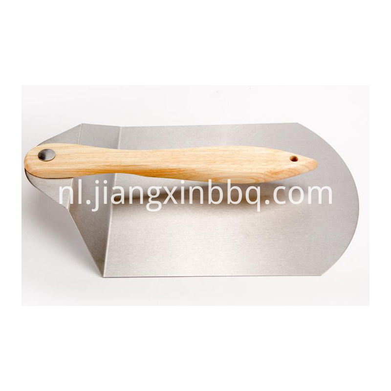 Stainless Steel Foldable Pizza Peel Detailed Drawing
