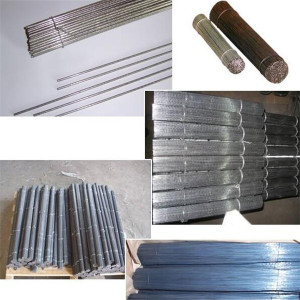PVC enduit Straight Cut Tie cintrage fil