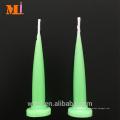 Se buscan colores surtidos por el proveedor Disponible Velas de cumpleaños con forma de bala verde claro Al por mayor