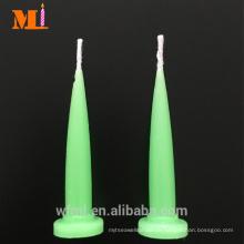 Wanted Supplier Assortierte Farben erhältlich Light Green Bullet Shaped Geburtstagskerzen Großhandel
