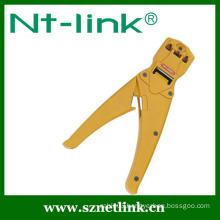 ratchet crimp tool for 4p+6p+8p