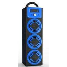 Orador portátil do bluetooth do karaoke do diodo emissor de luz