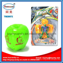 Hot Sale Cartoon Fruit Apple Transformance Robot Toy