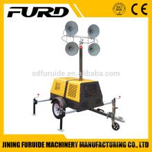Torre de iluminación portátil industrial de elevación automática (FZMT-400B)