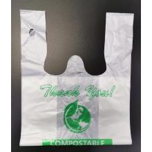 100% Biodegradable PLA Non-toxic Plastic Shopping bags